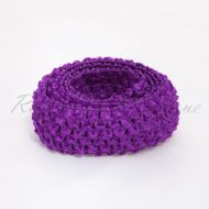 Purple Headband By The Metre 1.5 Inches